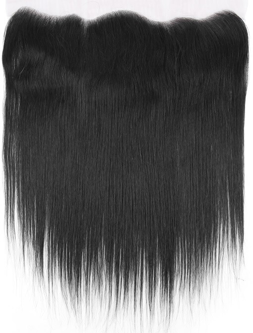 Natural Straight Lace Frontal Top